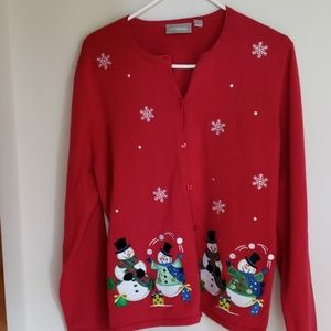 Croft & Barrow Sweater Women L